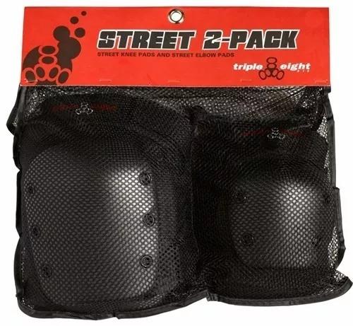 pack protecciones profesionales deportes extremos triple 8