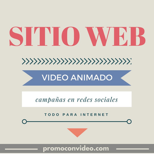 páginas web, videos animados, diseño de e-books