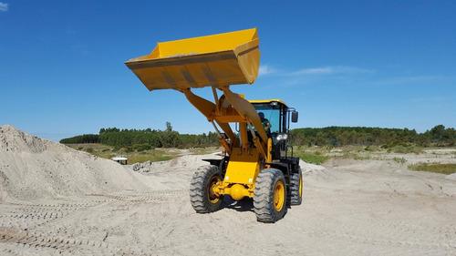 pala cargadora 2m3 3500kgs