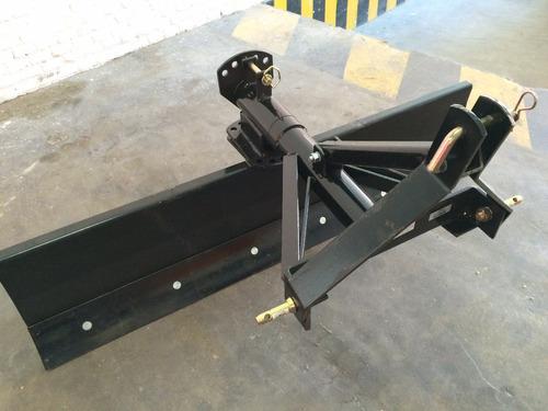 pala / cuchilla niveladora para tractor 1.80 mts reforzada