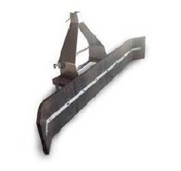 pala de goma para estiércol sureña maquinaria agrícola