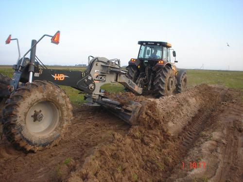 pala niveladora gts - planner 510 hd maquinaria agricola