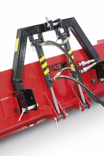 pala trasera para tractor equus 1.20m 2 cilindros