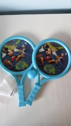 paletas plastico playa jardin niño bebe mickey