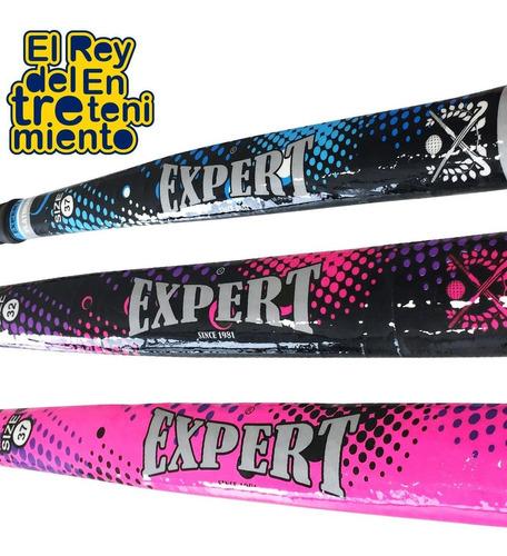 palo hockey expert platinum fibra + bolso+ bocha+ acc el rey