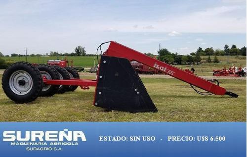 palon nivelador ilgi 4 mts - maquinaria agrícola