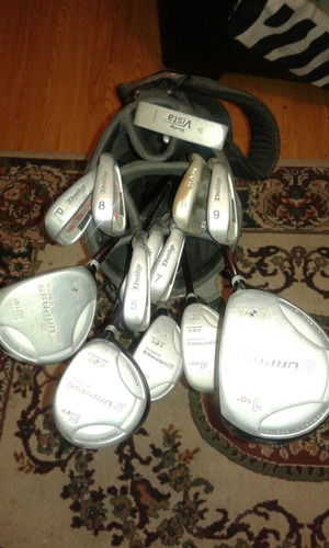 palos , bolso de golf