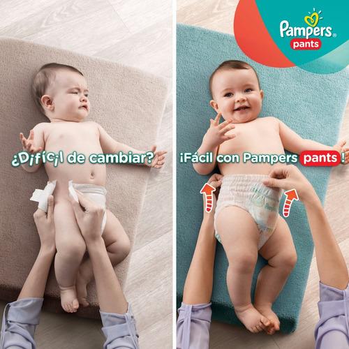 pañales  pampers pants m 7-12kg hiperpack x40u. .