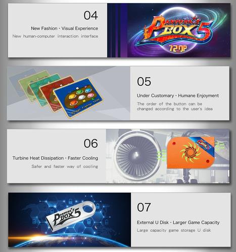 pandora box 5 arcade, bartop 960 juegos
