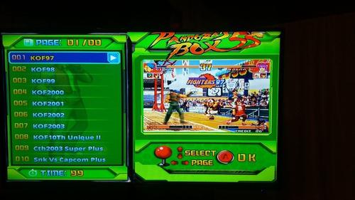 pandorabox 5s. inalambrica. 999 juegos.