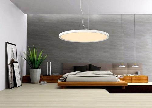 panel led decorativo  circular 35w unilux
