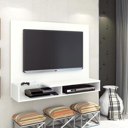 panel para tv estela hasta 55  blanco - encontralo.shop-