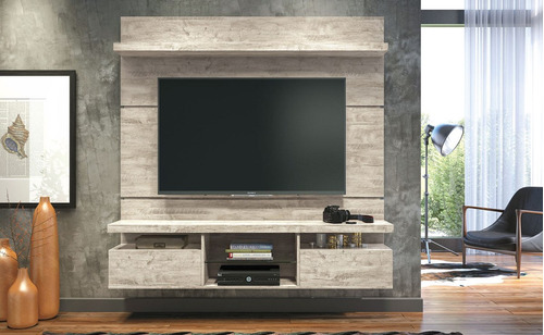 panel para tv, rack, home theater 100% mdf oferta