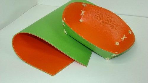 paneras símil cuero eco personalizadas mantel efrain ruival