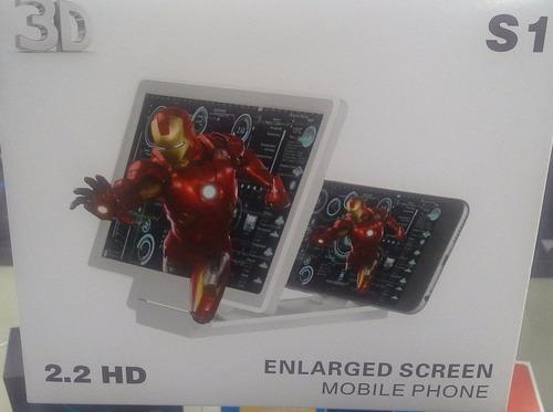 pantalla 3d para celular, amplia tu imagen !!!
