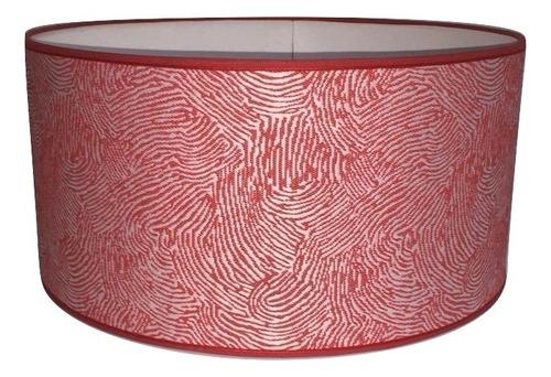 pantalla 40x40x20 tela diseño artelamp liquidación