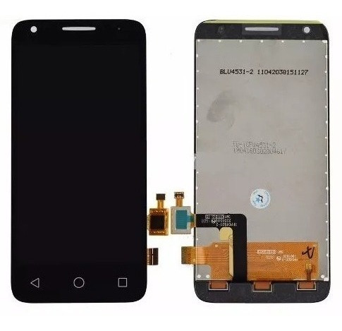 pantalla display vidrio tactil alcatel pixi 3 5017 4027 negr