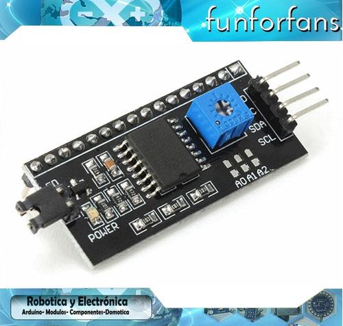 pantalla  lcd 16x2 lcd1602 arduino  b/y pic