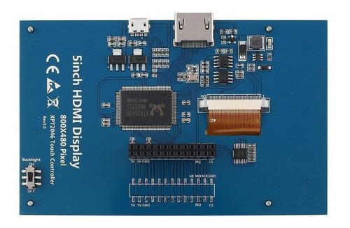 pantalla lcd 5  800x480 entrada hdmi / ideal raspberry pc