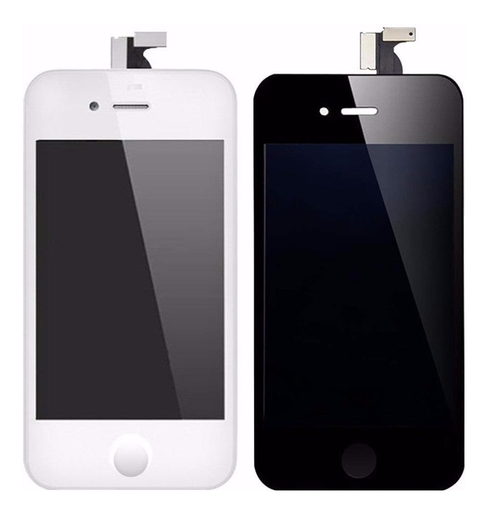 d4066b99 Pantalla Lcd Y Vidrio Tactil iPhone 4 Y 4s Original Colocado