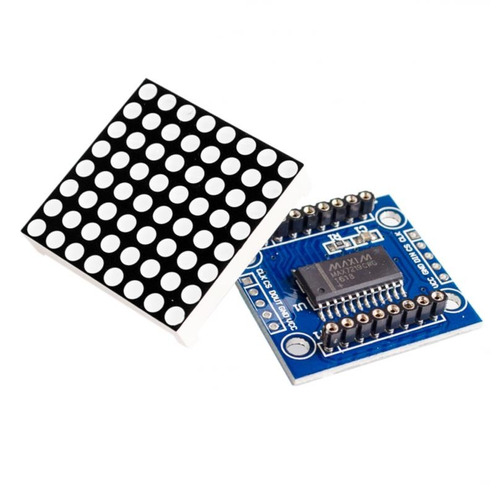 pantalla  led display 8x8 32 x 32 mm driver max7219 arduino