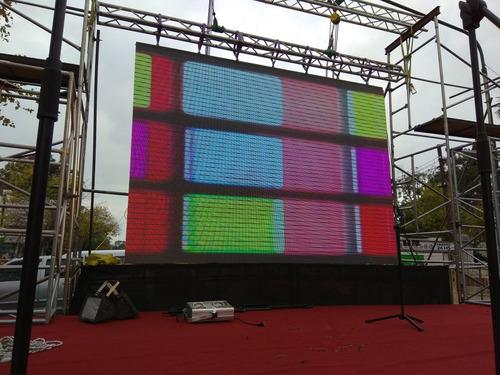 pantalla led eventos fiestas publicidad