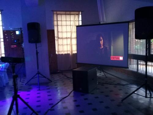 pantalla proyector alquiler