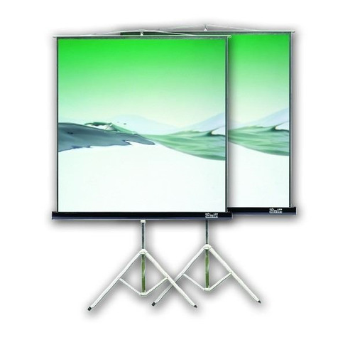 pantalla proyector con tripode klipxtreme 100 kps103b pcm