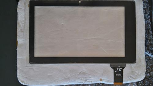 pantalla vidrio tactil touch tablet atc7015 fpc 7 pulgadas