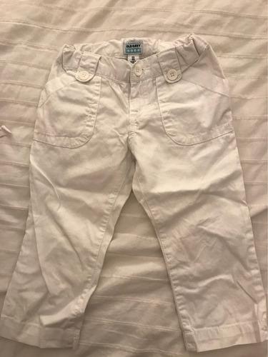 pantalón blanco niña talle 4 old navy