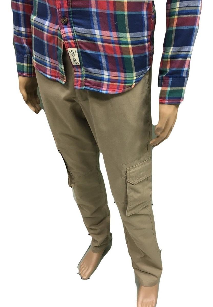 Pantalon Cargo Chupin Beige - $ 1.490,00 en Mercado Libre