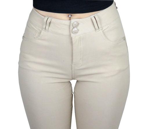 pantalon  dama mujer beige azul negro verde varios talles ®