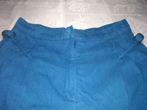 pantalon de tela, azul precioso!!