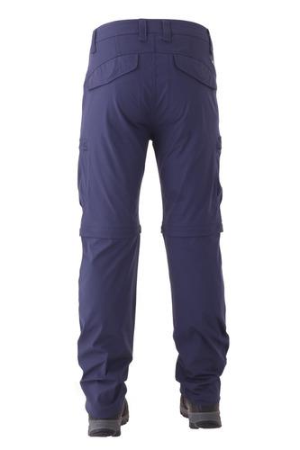 pantalón hi-tec hombre exeter zip off pant