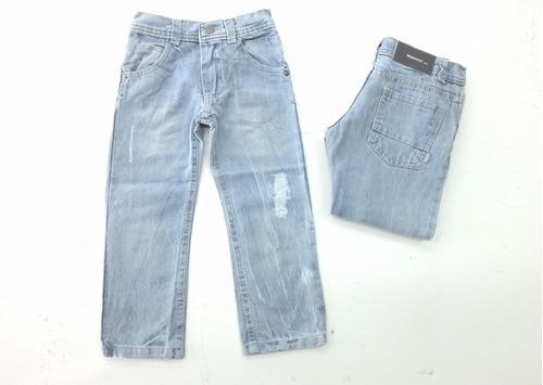 pantalón jean recto