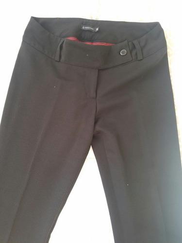 pantalon negro de vestir