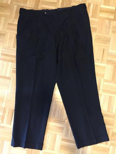 pantalon negro vestir innocenti talle 46 x 34 xxl hombre usa