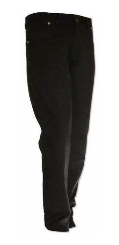 pantalon pampero 5 bolsillos canvas negro