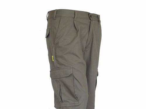 pantalon pampero cargo clásico beige