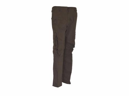 pantalon pampero cargo piel durazno chocolate