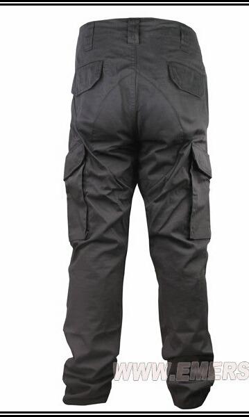 encontrar el precio más bajo la mejor moda variedades anchas Pantalón Táctico Negro
