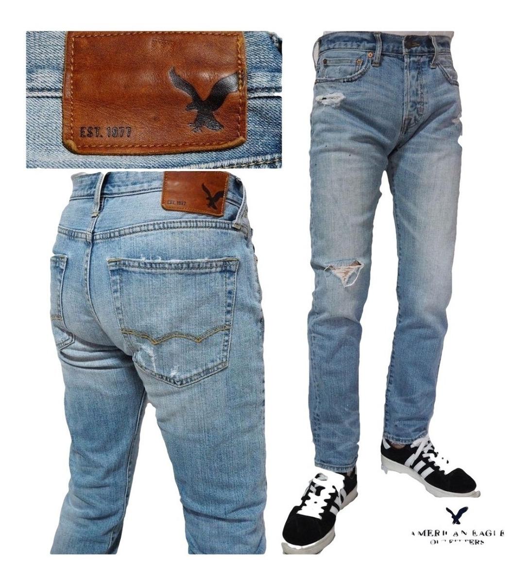 Pantalon Vaquero American Eagle Jeans Talle 30x32 Original