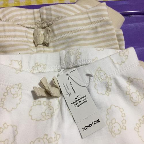 pantalones de algodón old navy 6a12m