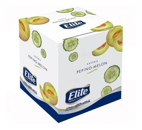 pañuelos elite cubo premium pepino-melón  x60
