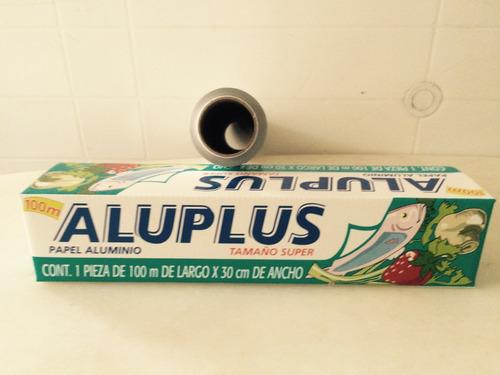papel aluminio 0.30 x 100 metros
