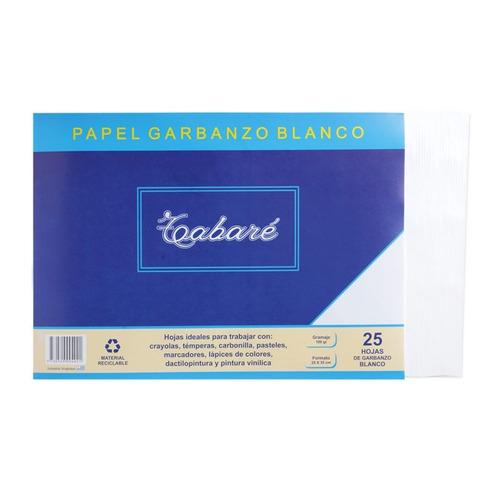 papel garbanzo tabaré - 25 unidades - mosca