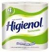 papel higienico higienol texturado - funda x 48 rollos 30m
