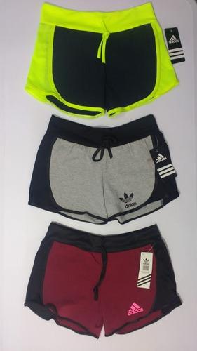 paq 12 shorts con envio trend moda dama deportivos moda gym