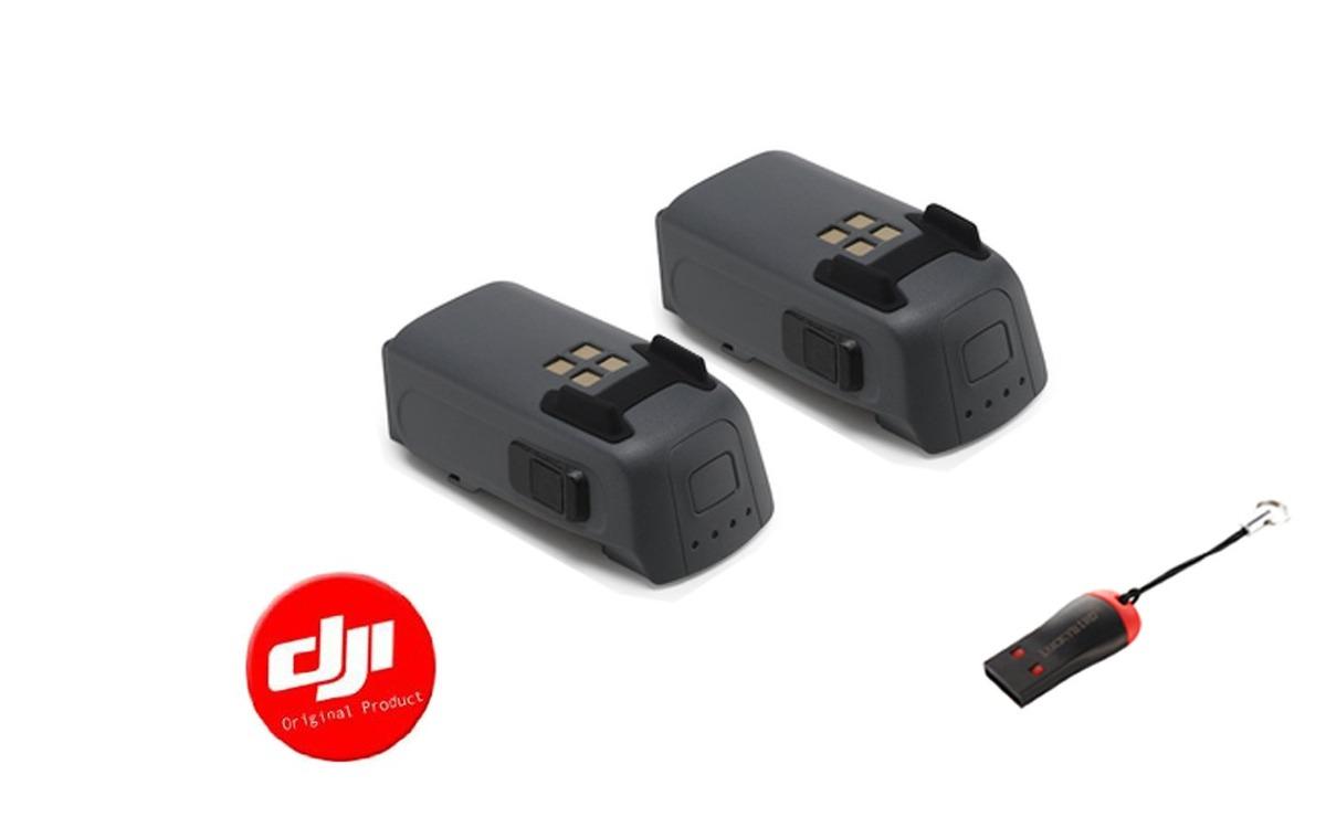 Paquete De Batería Inteligente Dji Spark 2 Con Lector Usb