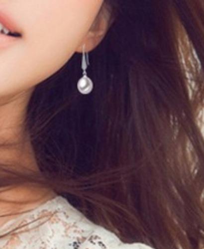 par aretes perlas naturales aaa, plata925 y zirconias regalo